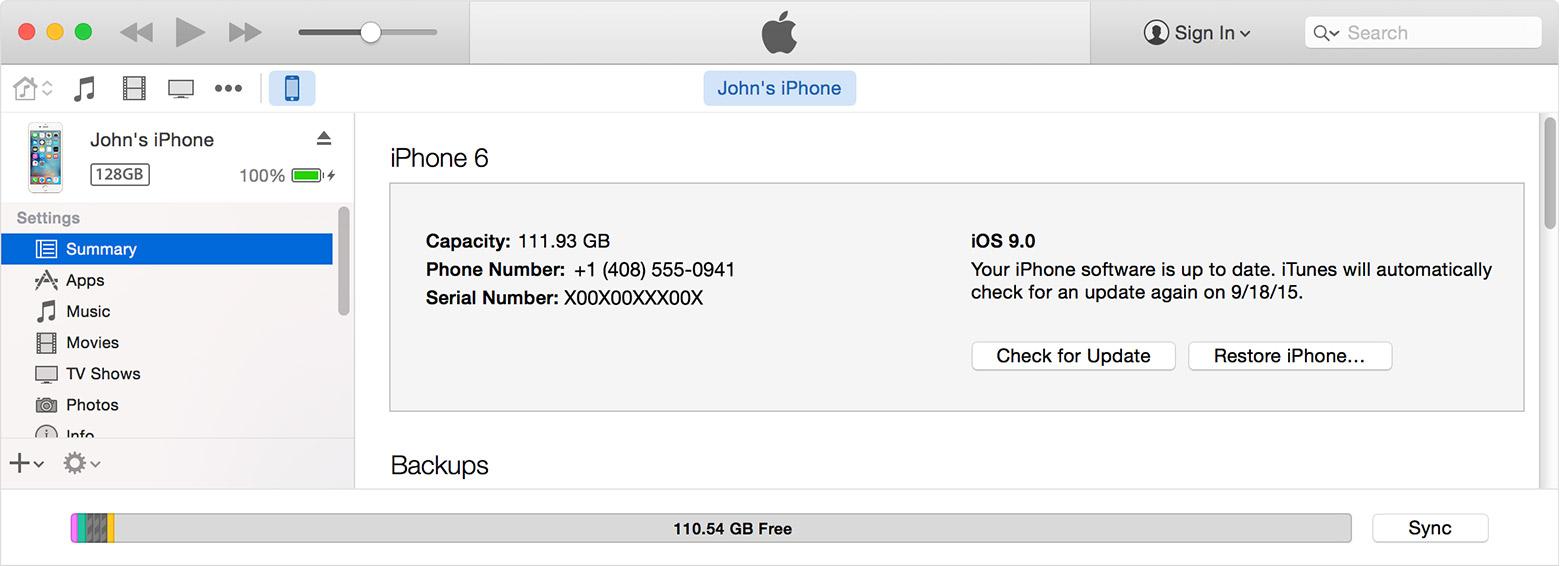 iphone ipad ipod unlock or enable using itunes