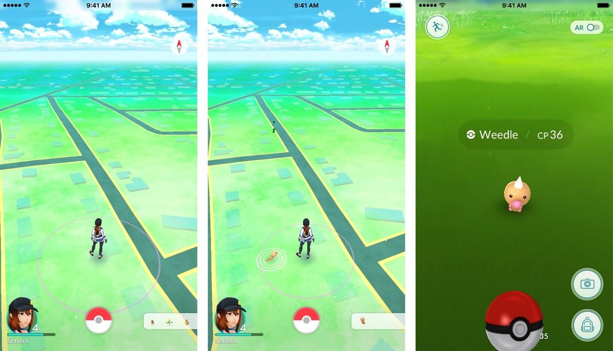 Pokemon-radar-catch