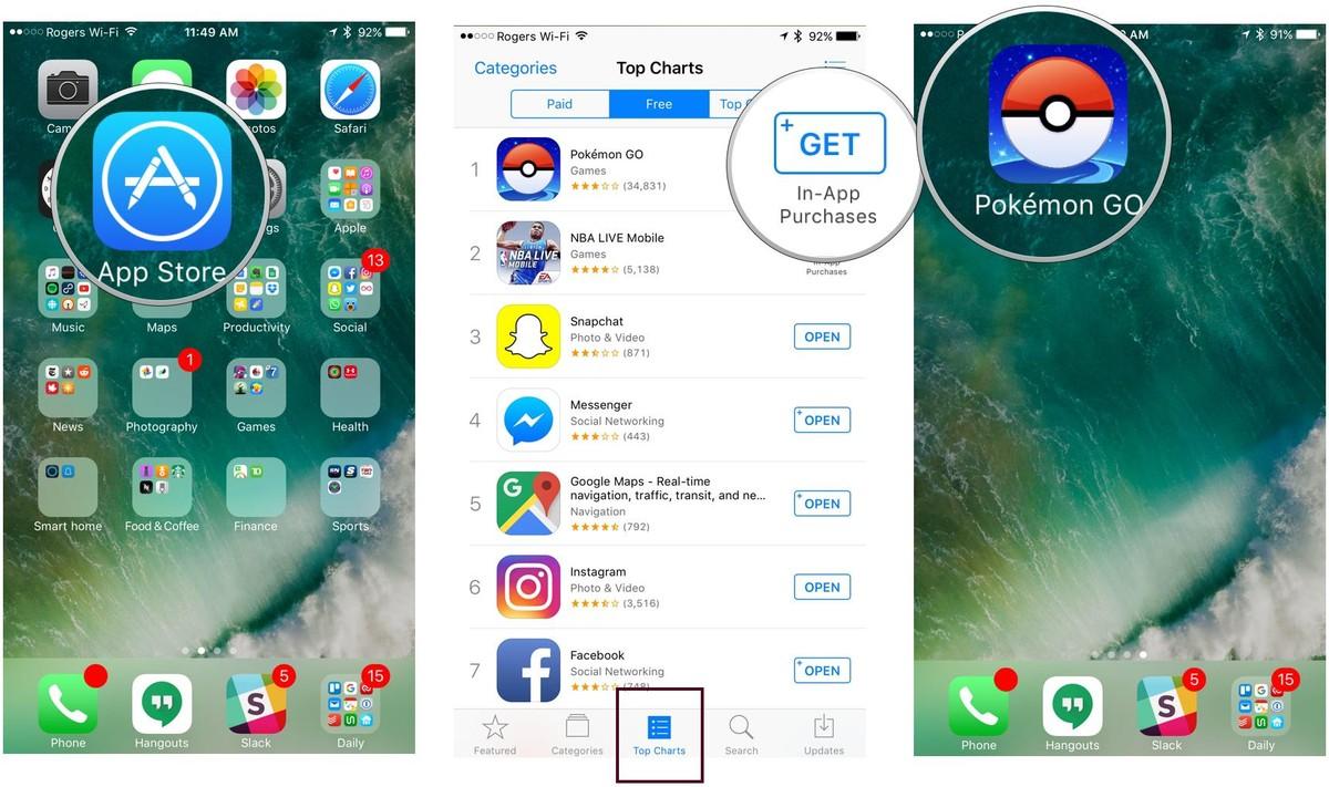 How to install pokemon go in ios iphone ipad